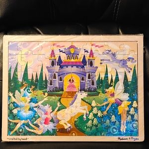 2/$50🔥Handcrafted Melissa and Doug Fairies Puzzle